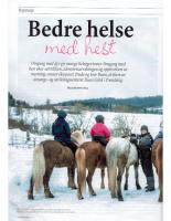 Bedre helse med hest